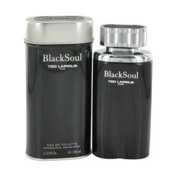 Picture of Black Soul by Ted Lapidus 100ml EDT for men-NO BOX